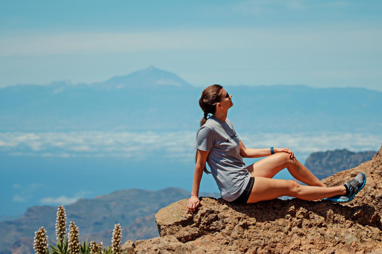 Il teide visto da Gran Canaria